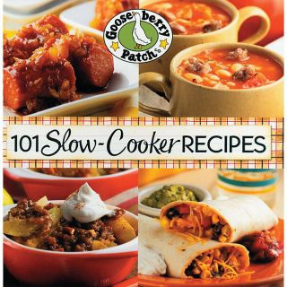 Gooseberry Patch 101 Slow Cooker Recipes Cookbook