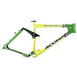 Kona Stinky DeeLux Mountain BIke Frame Green 19 Sports