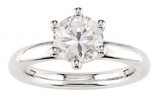 14k Gold 1ct TDW Round Diamond Solitaire Ring (I J, I1 I2)