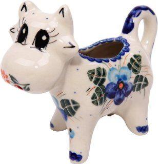 Polish Pottery Ceramika Boleslawiec, 0501/162, Creamer Cow