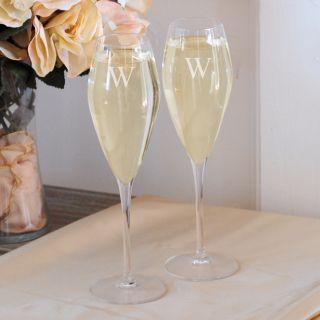 Luigi Bormioli Crystal Champagne Flutes (Set of 2)