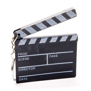 Hollywood Clapboard Keychains Toys & Games