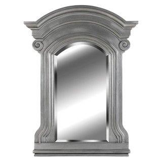 Claiborne 37x28 Anique Pewer Wall Mirror