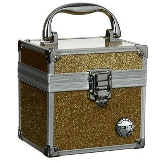 SOHO City Lights Gold Mini Beauty Case