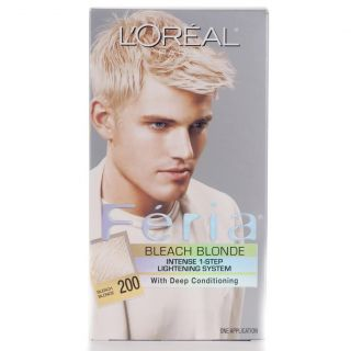 Oreal Feria #200 Bleach Blonde Hair Color (Pack of 4)