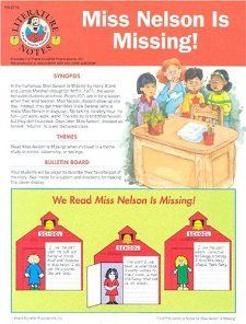 Miss Nelson is Missing A Resource Book 9780867342185
