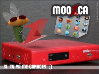 M O O Z C A Bravissimo Twin HD RED MOOZCA azbox