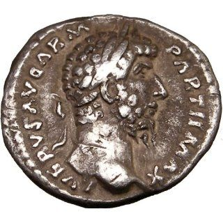 LUCIUS VERUS Victory v PARTHIA 166AD Rare Authentic Ancient Silver