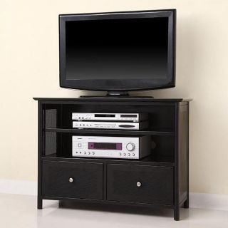 Elite Black Metal TV Stand