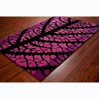Allie Handmade Floral Pink Wool Rug (5 x 76) Today $199.99 5.0 (1