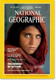 National Geographic Magazine Vol. 167 Jan June 1985 (Slip Case