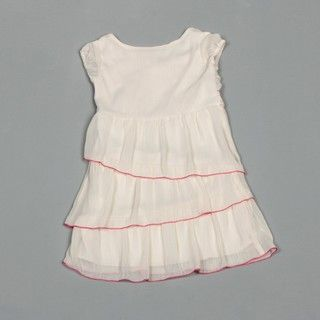 Hype Girls Ivory Tiered Dress