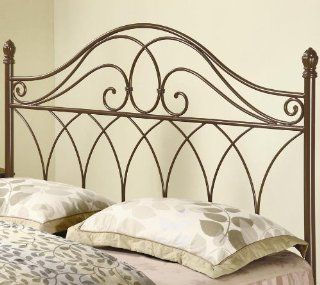 Coaster Full Or Queen Brown Metal Headboard Furniture