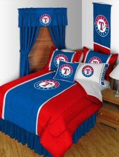 Texas Rangers Sidelines Twin Bedding Set Sports