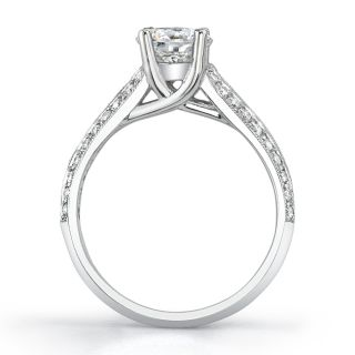 18k Gold 1 7/8ct TDW Diamond Engagement Ring (H I, SI1 SI3