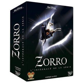 Intégrale Zorro Saison 1 & 2 en DVD SERIE TV pas cher