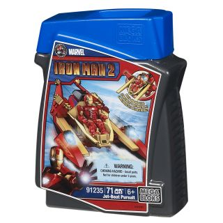 Mega Bloks Marvel Iron Man Jet Boat Pursuit