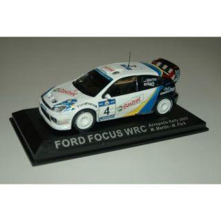 Ford Focus WRC #4 (2003)   Modèle 143   Achat / Vente MODELE REDUIT