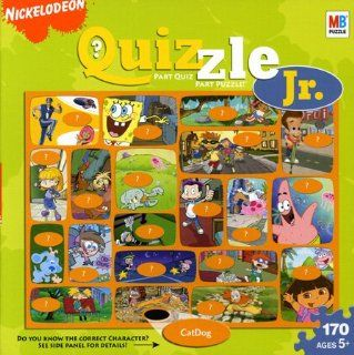 Quizzle Jr. Nickelodeon Jigsaw Puzzle 170pc Toys & Games
