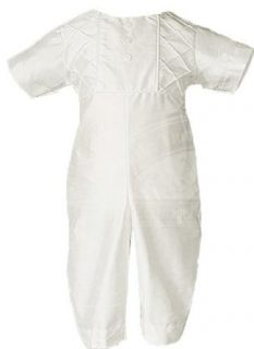 Little Things Mean A Lot Boys Silk Christening Outfit