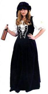 Renaissance Lady Lace Up Vest Adult Costume Clothing