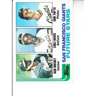 1982 Topps #171 Bob Brenly RC/Chili Davis RC/Bob Tufts RC
