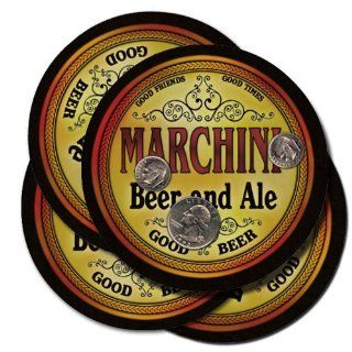 MARCHINI Family Name Beer & Ale Coasters: Everything Else