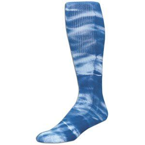Royal Blue, Small Tyed Dye (Tye Dyed) Knee High Socks for