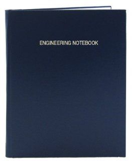 BookFactory® Blue Engineering Notebook   168 Pages (.25