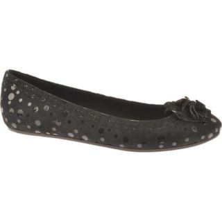 Womens Antia Shoes Abella Black Polka Dot Suede Today $81.45