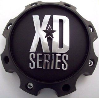 KMC XD Series 8 Lug Matte Black Center Cap 1079L170MB :