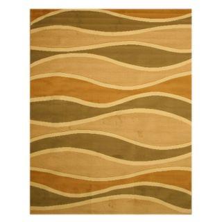 Pat Waves Abstract Green Rug (710 x 106)