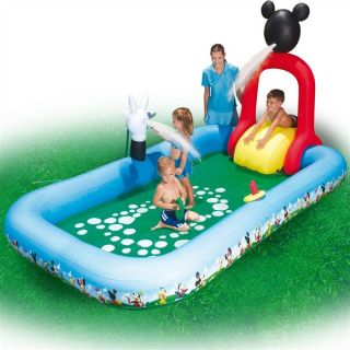 Piscine jeu Mickey mouse club house   Achat / Vente PISCINE GONFLABLE