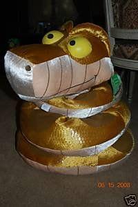 Disney Store Jungle Book Giant Kaa Plush 8 Toys & Games