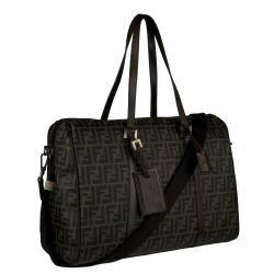 Fendi Pequin Duffle Travel Bag