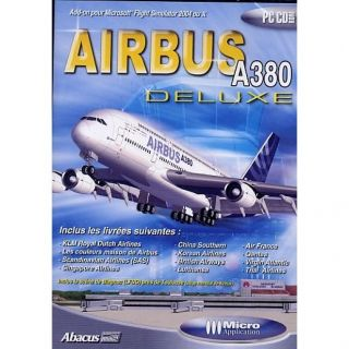 AIRBUS A380 / PC CD ROM Ed. Deluxe   Achat / Vente PC AIRBUS A380 / PC