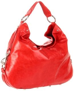 Rebecca Minkoff Nikki Hobo,Red,One Size Shoes