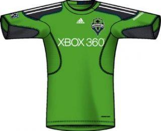 MLS Seattle Sounders FC Pregame Jersey (Rave Green, White