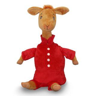 Zoobies Llama in Red Pajamas Storytime Pal Adorable Plush Toy