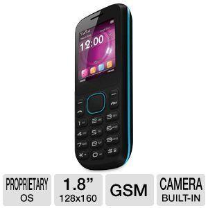 BLU T172 Jenny Unlocked Quad Band GSM Phone with Camera