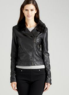 Romeo & Juliet Couture Zip Jacket With Faux Fur Today $59.99