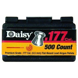 Daisy .177 Cal. Flat Nosed Pellets   500 Ct Sports