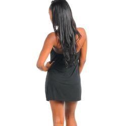 Stanzino Womens Black Casual Party Dress