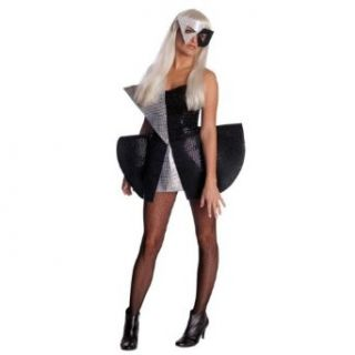 Lady Gaga Black Sequin Dress Costume Clothing