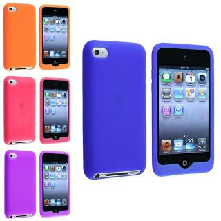 Blue/ Orange/ Pink/ Purple Case for Apple iPod Touch 4th Generation