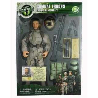 True Heroes 10 inch Soldier   Combat Troops   Navy: Toys