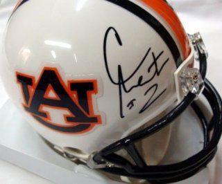 Cam Newton Autographed/Hand Signed Auburn Mini Helmet PSA