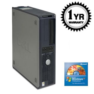 Dell 740 2.2GHz 2048MB 500GB DVDRW XP Desktop Computer (Refurbished