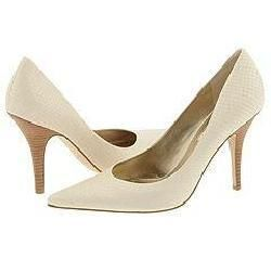 Nine West Elexis White Reptile(Size 9.5 M)
