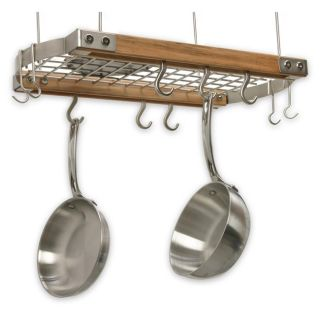 Adams Mini Ceiling Oval Pot Rack Today $148.99
